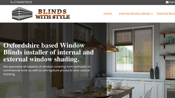 Blinds with Style - Website