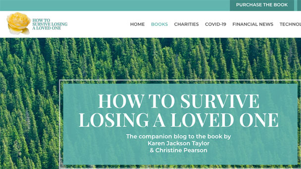 How to Survive losing a loved one - Website